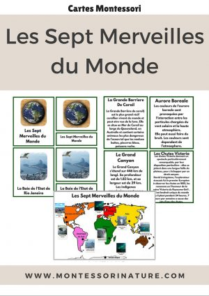 The Seven Natural Wonders Of the World French