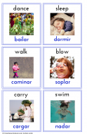 Action Cards Spanish