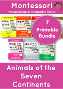 Animals of the Seven Continents Bundle