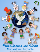 Peace around the world Montessori Nature