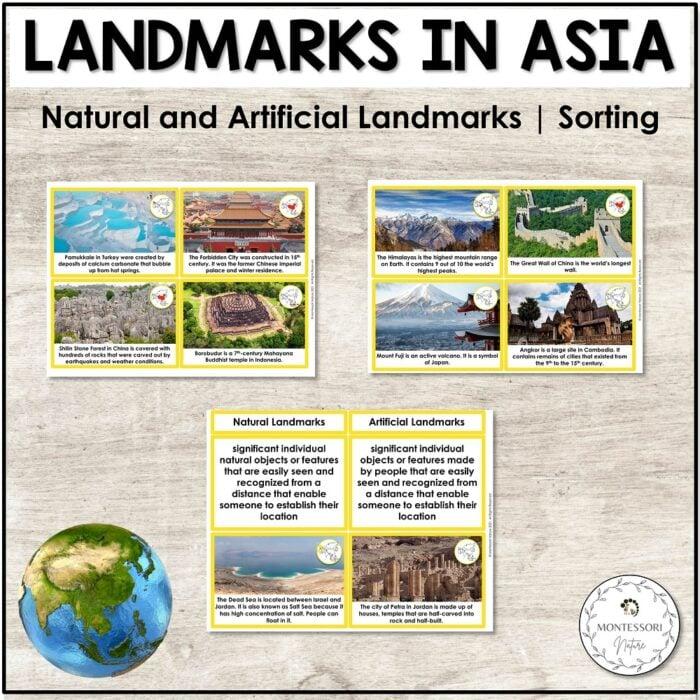 sia Artificial and Natural Landmarks Montessori