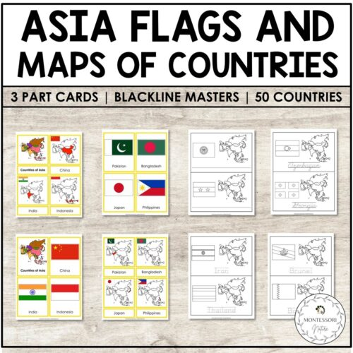 Asia Flags