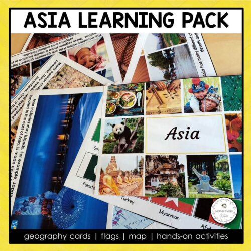 Asia Learning Pack Montessori Nature