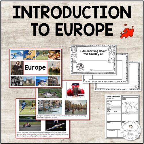 Cards about Europe