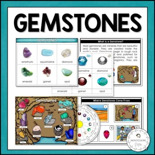 gemstones printable