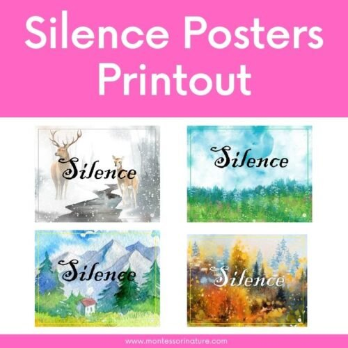 Montessori Nature Free Printables Learning Activities for Children