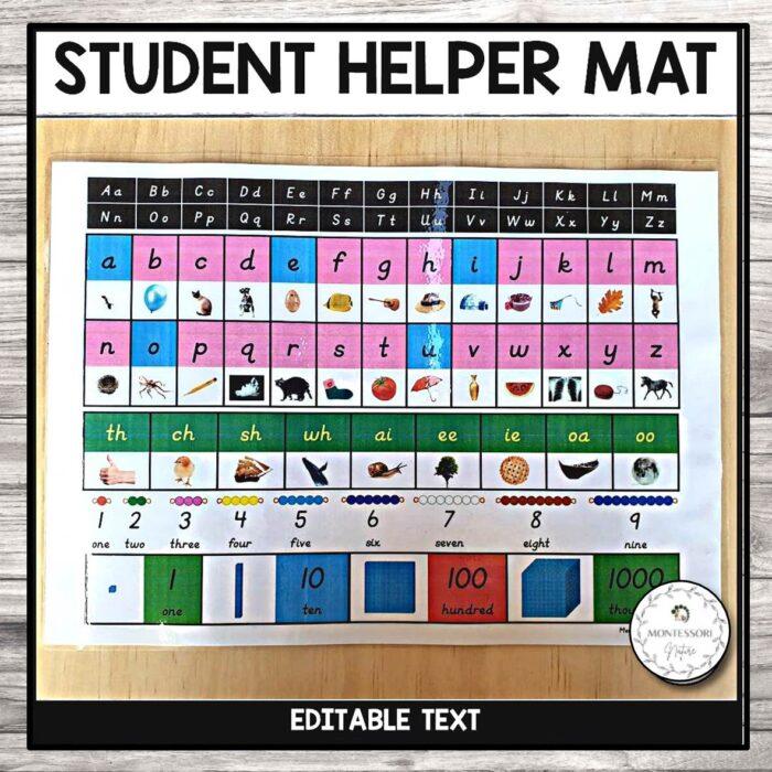 Student Helper Mat