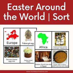 buy Easter Around the World Printable